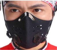 Jonty Bike Face Riding Bikers Heat/Cold Protection Anti-pollution Balaclava (Black, Pack Of 1)