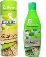 Rishiveda Ayurvedic Massage Oil (200 Ml)