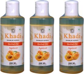 Khadi Apricot Herbal Oil