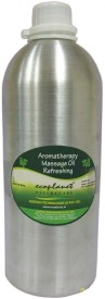 Ecoplanet Aromatherapy Massage Oil-Refreshing (1000 Ml)