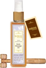 BodyHerbals Body and Essential Oils BodyHerbals Natural Lavender and Vanilla Body Massage Oil
