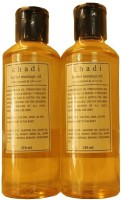 Khadi Herbal Massage Oil- Almond And Olive (420 Ml)