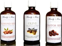 Mandy's Farm BABY BLISS MASSAGE GIFT PACK - 3 Pure & Natural Massage Oils (300 Ml)