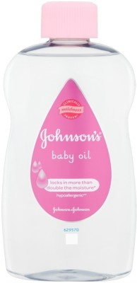 Johnsons Baby Oil Locks In More Than Double The Moisture (500 Ml)