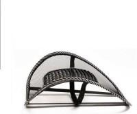 E'shop 182es Car Seat Massage Chair Back Lumbar Support Mesh Ventilate Cushion Pad Massager (Black)