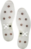 Accedre 22700 Accupressure Health Sole With Magnets For Therapy Massager (White)