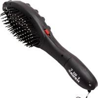 ACM 864665496 Acupressure Vibrating Hair Brush For Stress Relief Massager (Black)
