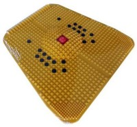 AvaniIndustries 1Y Acupressure Power Mat Massager (Yellow)