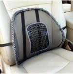 AutoKraftZ Car Seat Massage Chair Back Lumbar Support Mesh Ventilate Cushion Pad For Mahindra Xylo