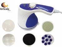 Vertical9 Heavy Duty Super Full Body Massager (White, Blue)