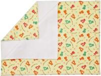 Rachna Polyester Large Sleeping Mat Feel Dry Printed (Yellow, 1 Mat)