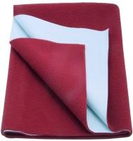 Babyrose Polyester Large Sleeping Mat (Maroon, 1 Mat)
