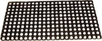 Ritika Carpets Rubber Extra Large Door Mat Black Ruber Holo Mat Seze 100 Cm @ 50 Cm (Black)