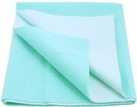 Wonder Dry Polyester Pongee Extra Large Changing Mat Quick Drying Absorbent Mat / Sheet For Double Bed (Sea Green)