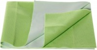 Wonder Dry Polyester Pongee Extra Large Generic Mat Quick Drying Absorbent Mat / Sheet For Double Bed (Green, 1 Mat)