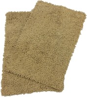 Tiskal Cotton Medium Bath Mat Karisma-Dark Beige-2 Beige
