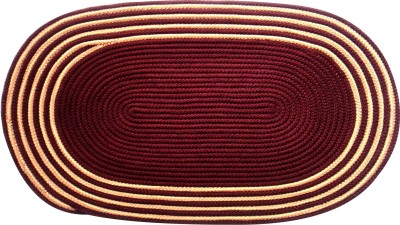 Saprose Shades of Paradise Door Mat Maroon