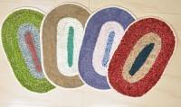 Kuber Industries Cotton Medium Door Mat Door Mat Set Of 4 Pcs Multicolour