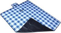 7Trees Cotton, PVC Large Camping Mat Foldable Dampproof Beach & Picnic Mat / Chatai - Pattern: Purple Flower (Purple, 1 Picnic Mat)