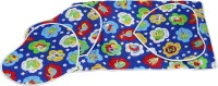 White Swan Cotton Large Sleeping Mat Baby Joy Changebale Mats (Blue, 4 Mats)