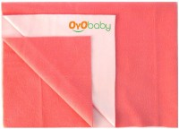 Oyo Baby Cotton Small Changing Mat Baby Care Sheet (Orange, 1 Mat)