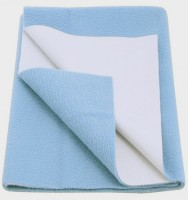 Babyrose Polyester Large Sleeping Mat (Light Blue, 1 Mat)