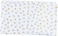 Stuff Jam Plastic Extra Large Sleeping Mat White With Yellow Print Plastic Sheet - Xtra Large (White, Yellow, 1 Mat)