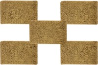 Tiskal Cotton Medium Bath Mat TK-BM-KARISMA_Beige-5 Beige, 5 Bath Mat