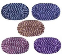 Kuber Industries Cotton Medium Door Mat Door Mat Set Of 5 Pcs Multicolour