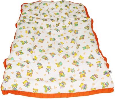 Wonderkids Cartoon Print Fix Pillow Mat (Orange)