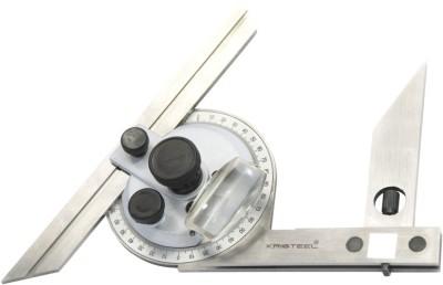 """Kristeel Universal Bevel Protractor 6"""" & 12"""" Blade Measurement Tape"""