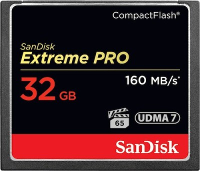 Sandisk-Pro-32-GB-Compact-Flash-Class-10-160-MB/S--Memory-Card