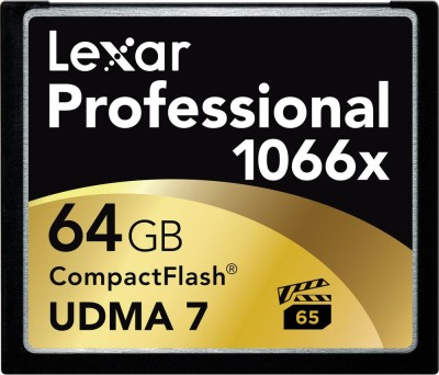 Lexar Pro 64GB CompactFlash 1066x Memory card