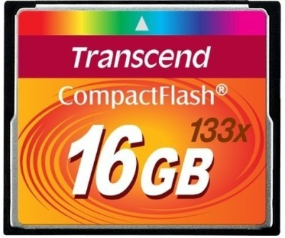 Transcend 16GB 133X CF Memory Card