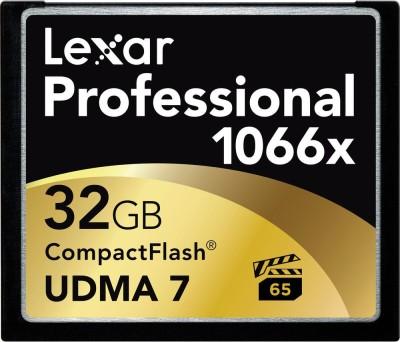 Lexar Pro 32GB CompactFlash 1066x Memory card