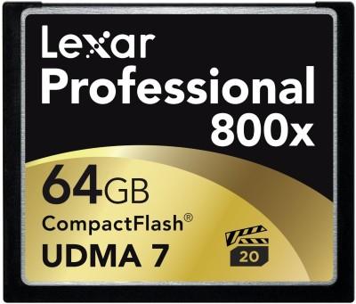 Lexar 64 GB Professional 800x Memory Card