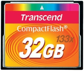 Transcend 32GB CF Memory Card