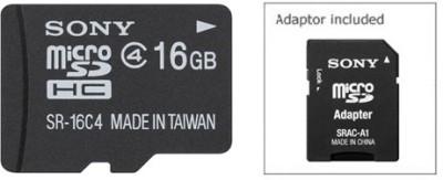 Sony-16GB-SR-16A4/T1-MicroSD-Memory-Card