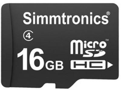 Simmtronics Ultra 16GB MicroSDHC Class 4 (48MB/s) Memory Card