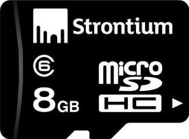Strontium 8GB MicroSDHC Class 6 Memory Card