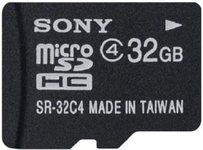 Sony SR-32A4/T1 32GB MicroSDHC Class 4 Memory Card