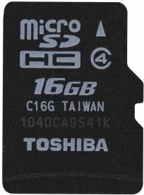 Toshiba 16GB (Class 4) Micro SD Memory Card