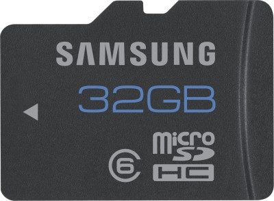 32GB Micro SD Memory Card Price of Rs 1200 from Samsung at Flipkart