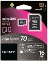 Sony MicroSDHC 16 GB Class 10 SR-16UY2A UHS-I Class 10