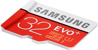 Samsung Evo Plus 32 GB MicroSDHC Class 10 80 MB/s  Memory Card