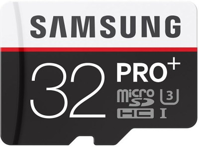 Samsung PRO Plus MB-MD32DA 32GB MicroSDHC Class 10 Memory Card (With Adapter)