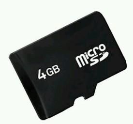Vizio 4GB MicroSDHC Class 4 Memory Card