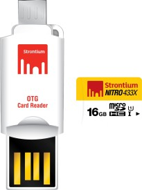 Strontium-Nitro-433X-16GB-MicroSDHC-Class-10-(85MB/s)-UHS-1-Memory-Card-(With-OTG-Card-Reader)