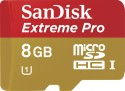SanDisk MicroSD Card 8 GB Extreme Pro: Memory Card