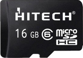 Hitech 16GB MicroSDHC Class 6 Memory Card